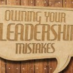 Owning up to mistakes the best policy